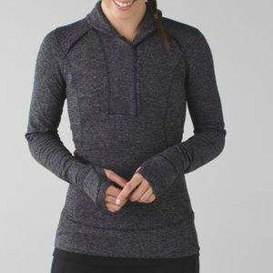 Lululemon Think Fast Pullover Ready or Snot Size 4